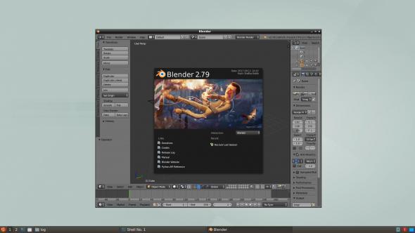 blender on Slitaz Next « SliTaz Forum